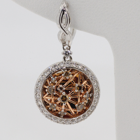 Cinnamon Diamond Earrings